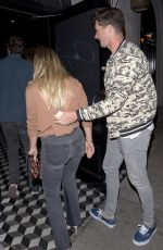 HILARY DUFF Leaves Craig