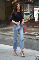 HILARY RHODA at 2017 Victoria's Secret Fashion Show Casting in New York 08/23/2017