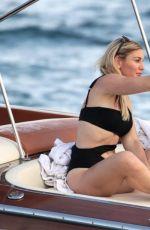 HOFIT GOLAN and JULIANE DALLA PRIA on at a Boat of Porto Cervo 08/09/2017