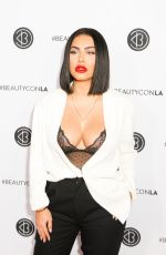 HRUSH ACHEMYAN at Beautycon LA at LA Convention Center in Los Angeles 08/13/2017