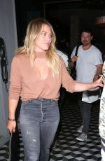 HILARY DUFF Leaves Craig\