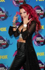 BELLA THORNE at Teen Choice Awards 2017 in Los Angeles 08/13/2017