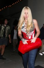 IGGY AZALEA Night Out in West Hollywood 08/20/2017