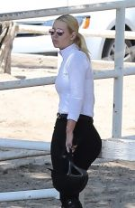 IGGY AZALEA Riding a Horse in Los Angeles 08/05/2017