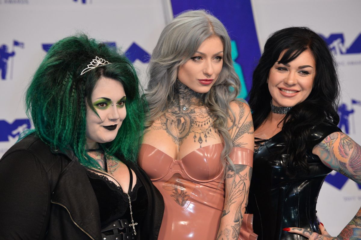 INK MASTER at 2017 MTV Video Music Awards in Los Angeles 08/27/2017