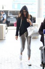 IRINA SHAYK at Lax Airport in Los Angeles 08/18/2017