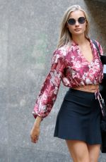 ISABEL SCHOLTEN Arrives at Victoria's Secret Auditions in New York 08/17/2017