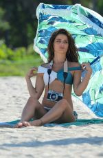 ISABELI FONTANA on the Set of a Photoshoot in Miami 08/11/2017