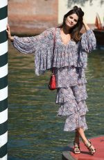 ISABELI FONTANA Sightings in Venice 08/30/2017