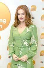 ISLA FISHER at Good Morning Britain in London 08/21/2017