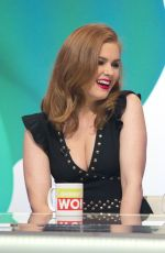 ISLA FISHER on the Set of Loose Women TV Show in London 08/22/2017