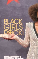 ISSA RAE at BET Black Girls Rock! in Newark 08/05/2017