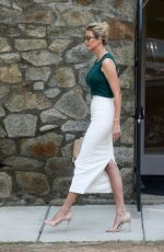 IVANKA TRUMP Heading to Her Work in Washington D.C. 08/01/2017