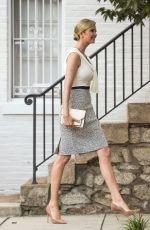 IVANKA TRUMP Leaves Her Home in Washington D.C. 07/30/2017