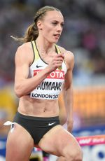 JACKIE BAUMANN at 400 m Hurdles Women Finale at IAAF World Championships in London 08/07/2017