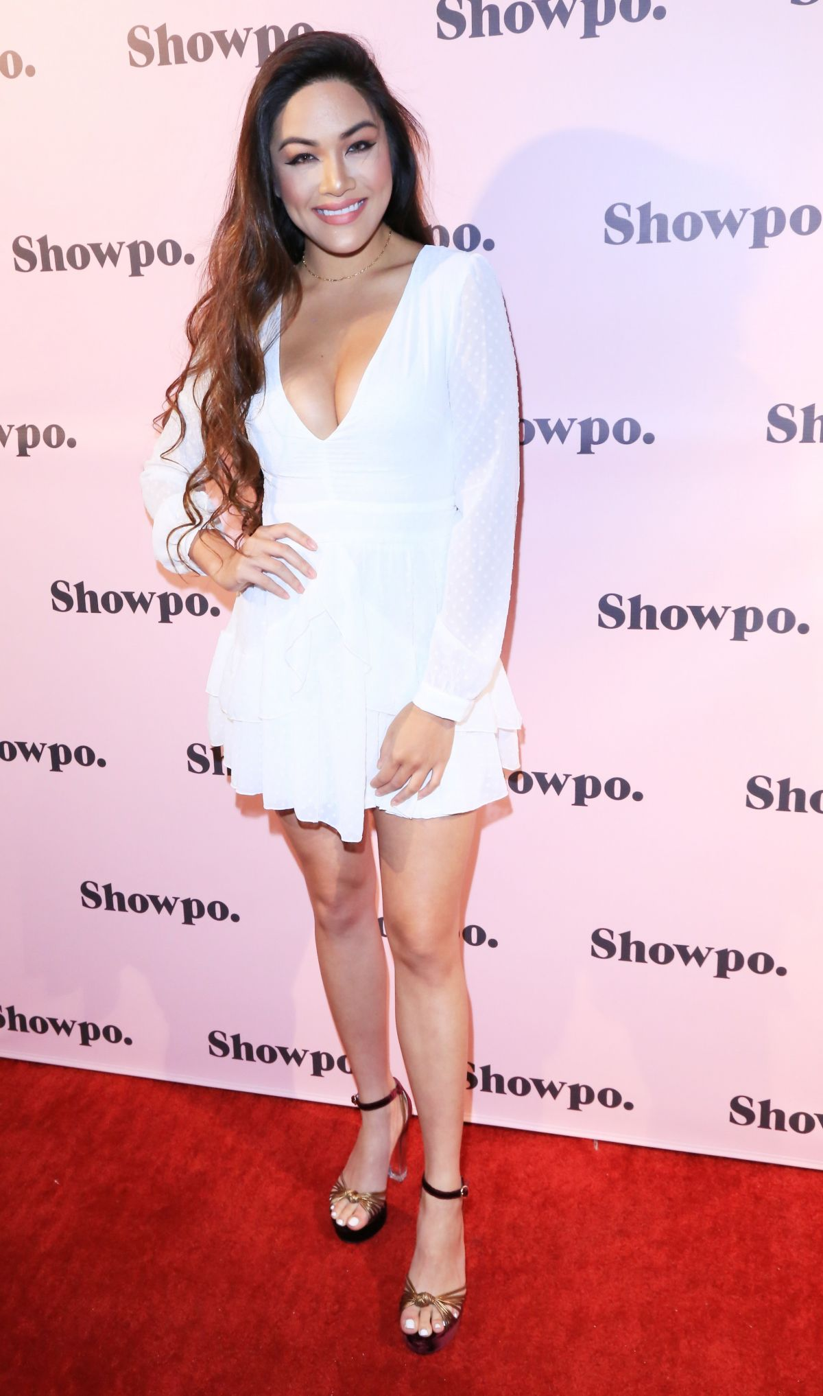 JAMIE CHAROEN at Showpo US Launch Party in Los Angeles 08/24/2017