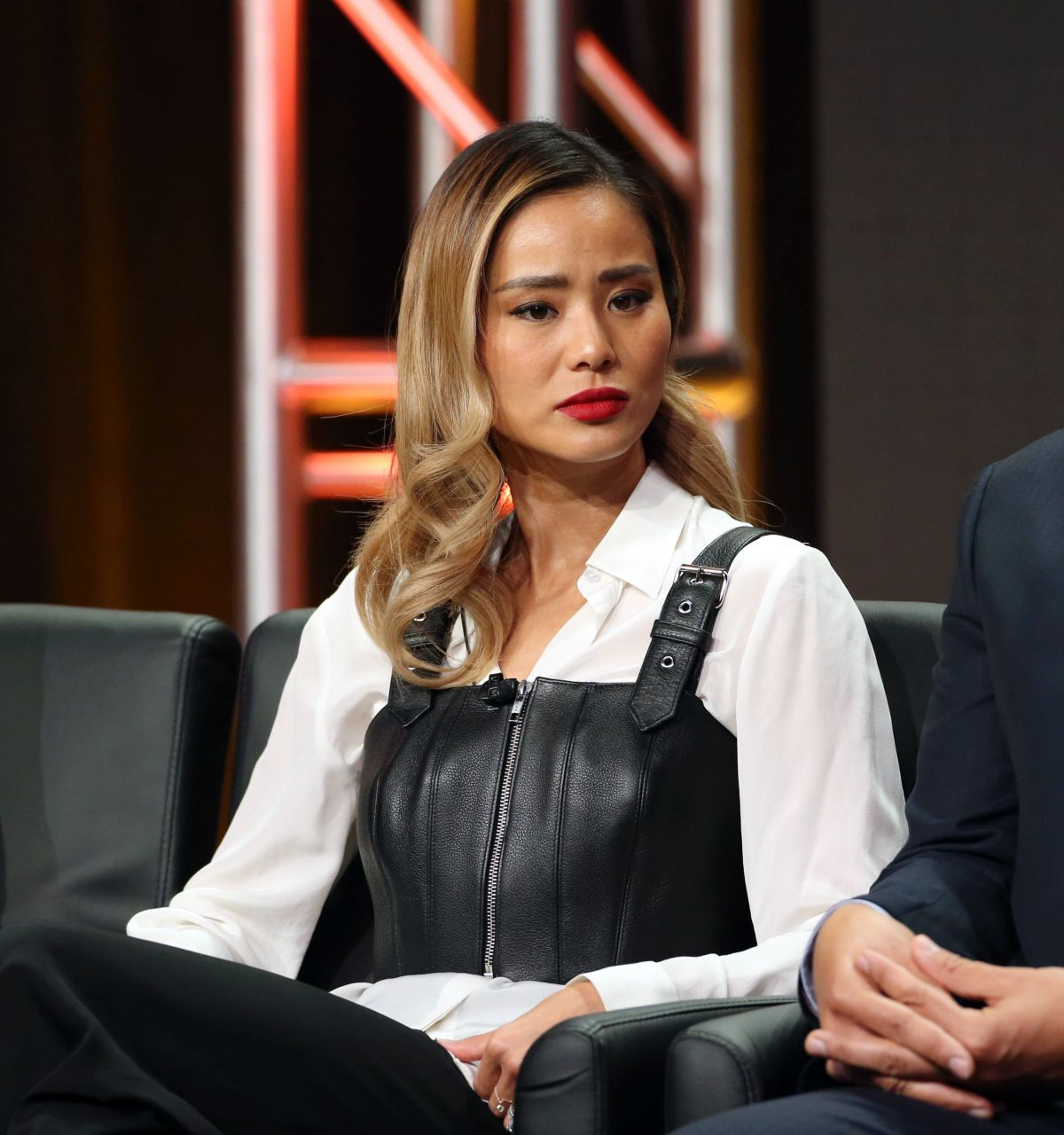 JAMIE CHUNG  at The Gifted Panel at TCA Summer Tour in Los Angeles 08/08/2017
