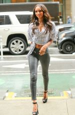 JASMINE TOOKES Arrives at Victoria's Secret Offices in New York 08/29/2017