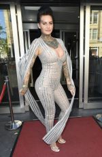 JEMA LUCY at Europian Dating Awards in Amsterdam 05/26/2017