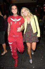 JEMMA LUCY and AMELIA LILY Night Out in Manchester 08/28/2017