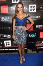 JENA SIMS at Sharknado 5: Global Swarming Premiere in Las Vegas 08/06/2017