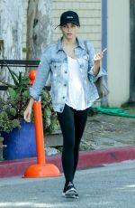 JENNA DEWAN Leaves a Gym in Los Angeles 08/22/2017