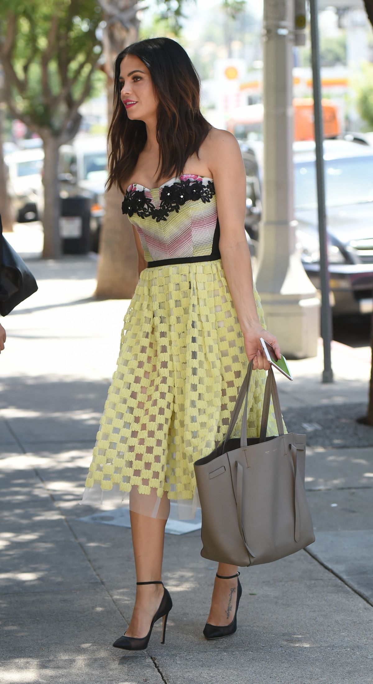 images Jenna dewan leaving joans on third in hollywood
