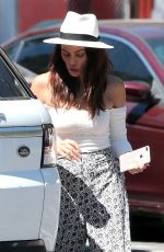 JENNA DEWAN Out and About in Beverly Hills 08/08/2017