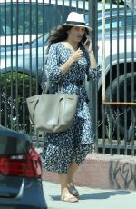 JENNA DEWAN Out for Lunch in West Hollywood 08/06/2017