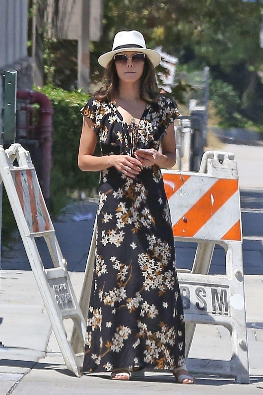 JENNA DEWAN Out in Los Angeles 08/13/2017