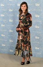 JENNA LOUISE COLEMAN at The Victoria, Season 2 Photocall in London 08/24/2017