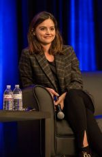 JENNA LOUISE COLEMAN at Wizard World Comic-con in Chicago 08/27/2017