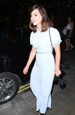 JENNA LOUISE COLEMAN Leaves Her Hotel in London 08/24/2017