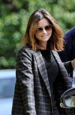 JENNA LOUISE COLEMAN Out and About in London 08/28/2017