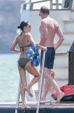 JENNIFER CONNELLY in Bikini at a Yacht in Ibiza 08/17/2017