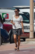 JENNIFER CONNELLY Out and About in Formentera 08/17/2017