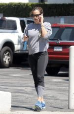 JENNIFER GARNER Out and About in Santa Monica 08/28/2017