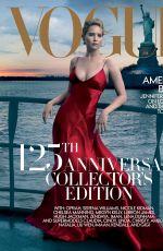 JENNIFER LAWRENCE in Vogue Magazine, September 2017 Issue