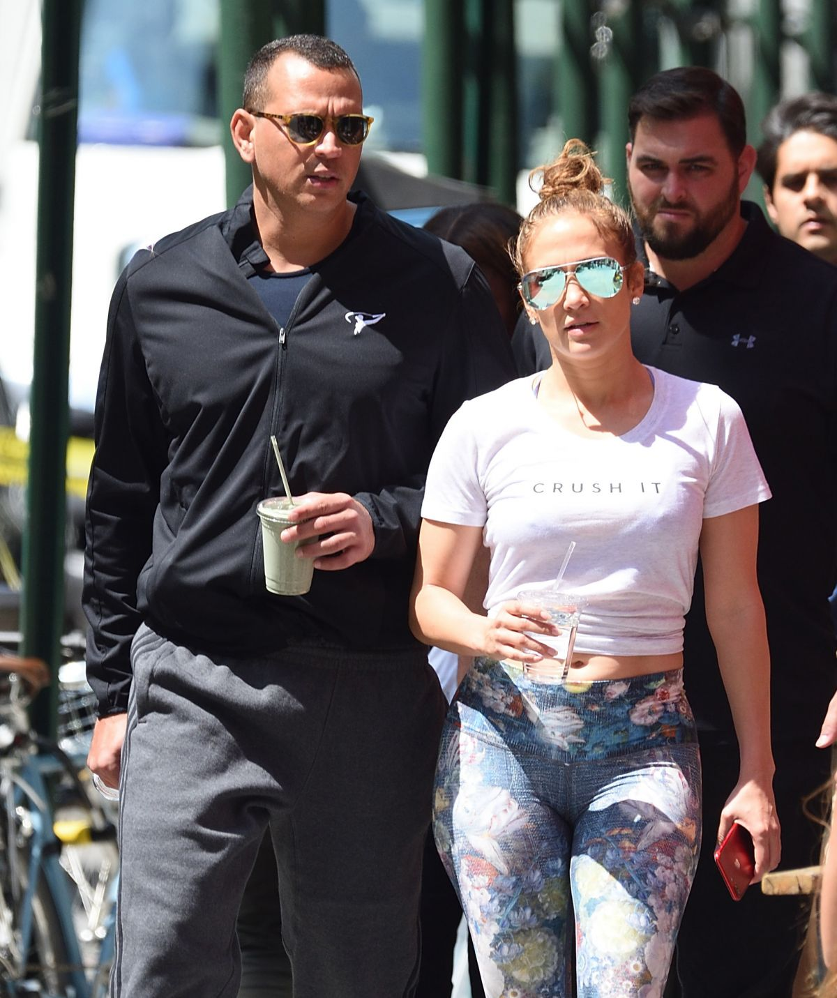 JENNIFER LOPEZ Heading to the a Gym in New York 08/24/2017
