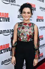 JENNY SLATE at Comrade Detective TV Show Premiere in Los Angeles 08/03/2017