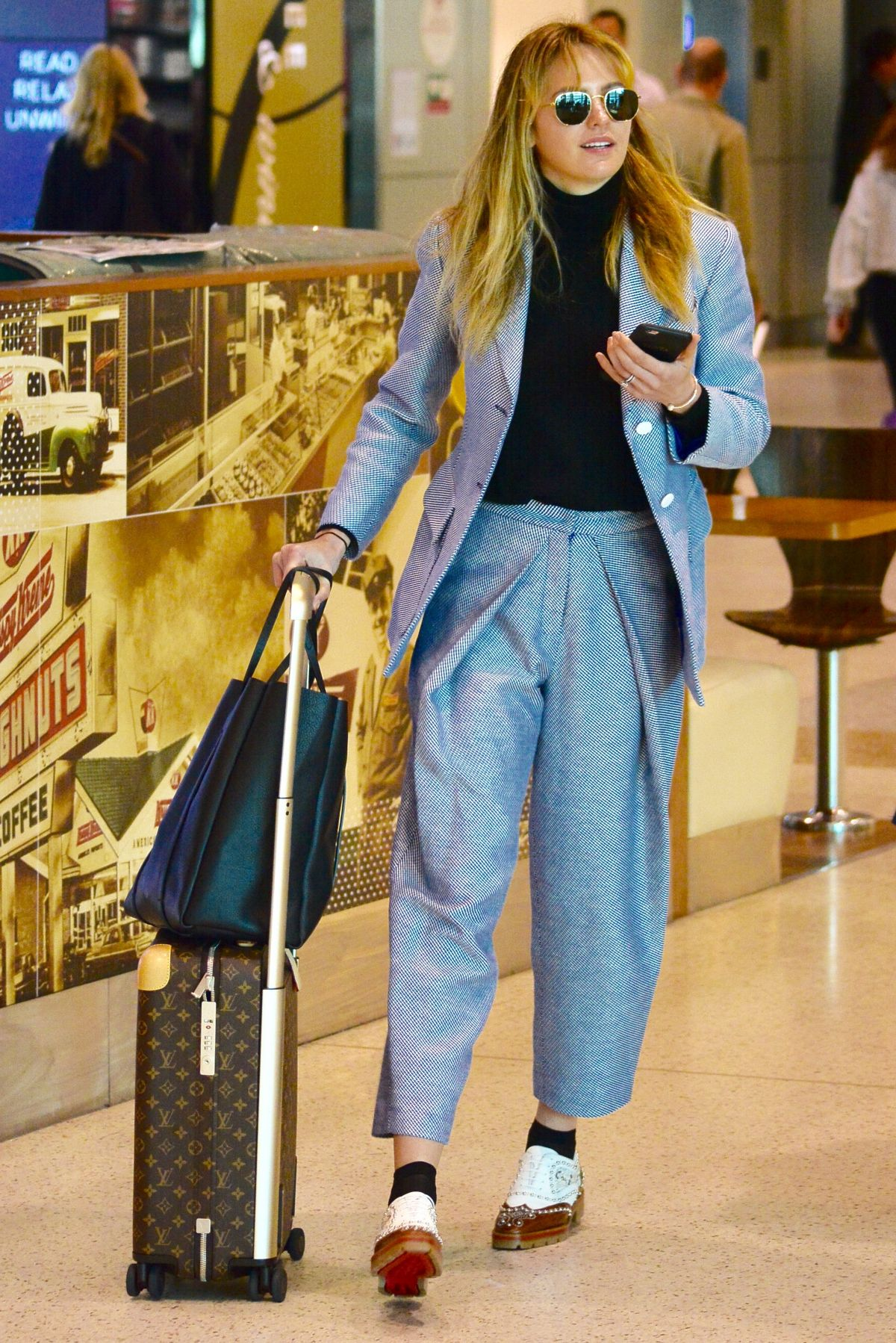 JESINTA FRANKLIN at Airport in Sydney 08/24/2017
