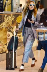 JESINTA FRANKLIN at Airport in Sydney 08/24/2017