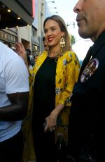 JESSICA ALBA at Hamilton's Opening Night in Hollywood 08/16/2017