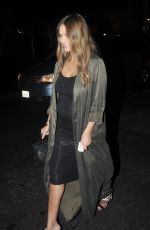 JESSICA ALBA at Highlight Room in Hollywood 08/18/2017