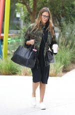 JESSICA ALBA Out and About in Los Angeles 08/25/2017