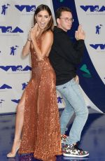 JESSICA ANDREA at 2017 MTV Video Music Awards in Los Angeles 08/27/2017