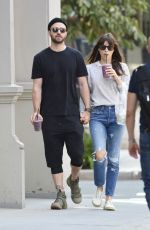 JESSICA BIEL and Justin Timberlake Out for a Juice in New York 08/28/2017