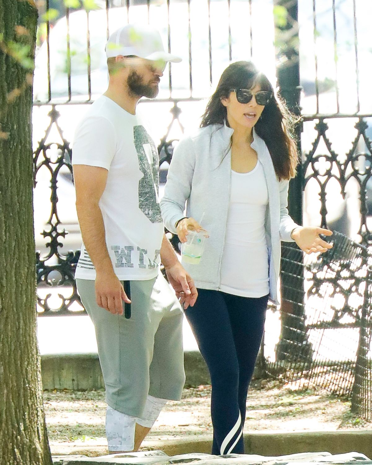 JESSICA BIEL and Justin Timberlake Out in New York 07/30/2017