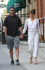 JESSICA BIEL and Justin Timberlake Out in New York 08/14/2017
