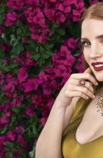 JESSICA CHASTAIN for Piaget Sunlight Journey 2017 Collection